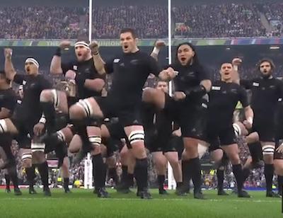 El Haka All Blacks final copa del mundo de Rugby (2016)