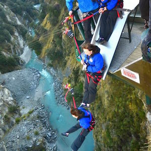 Canyon Swing Slippery Slide Nueva Zelanda Queenstown