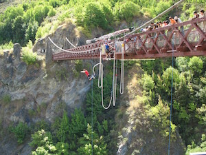 bungee jumping in queenstown nueva Zelanda