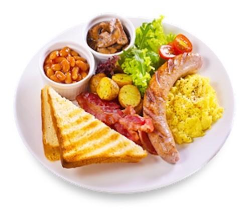 """Comida en Nueva Zelanda: Desayuno """"All day breakfast"""""""