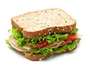 Comida en Nueva Zelanda: almuerzo sandwich
