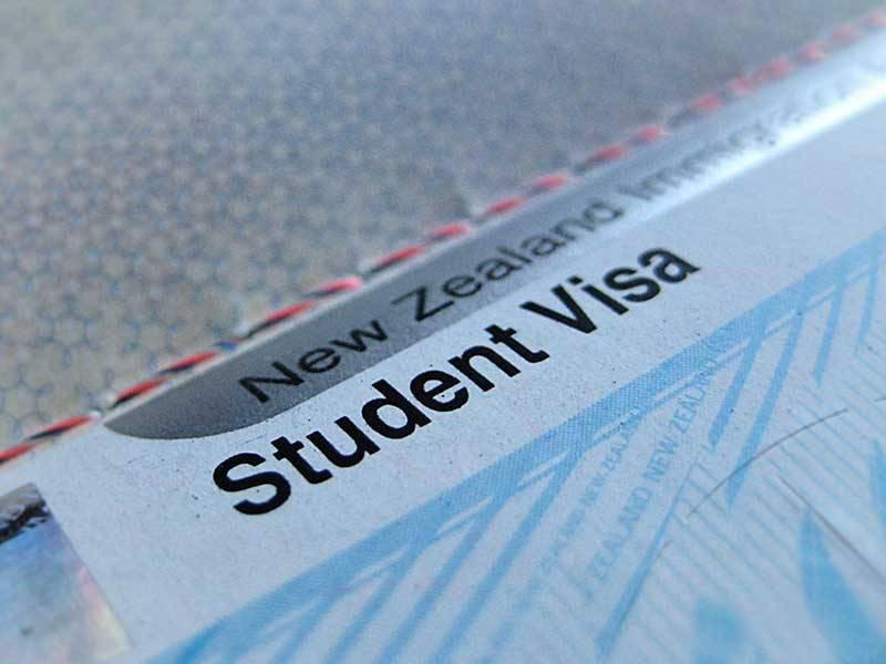 visa de estudiante de Nueva Zelanda
