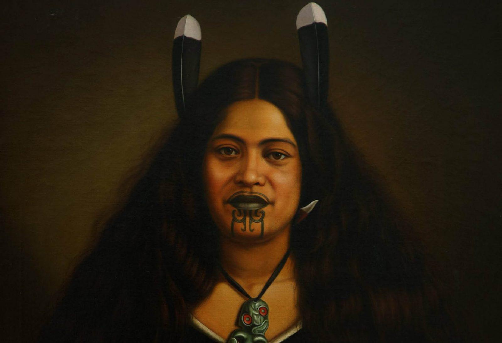 Tatuaje maori o ta moko