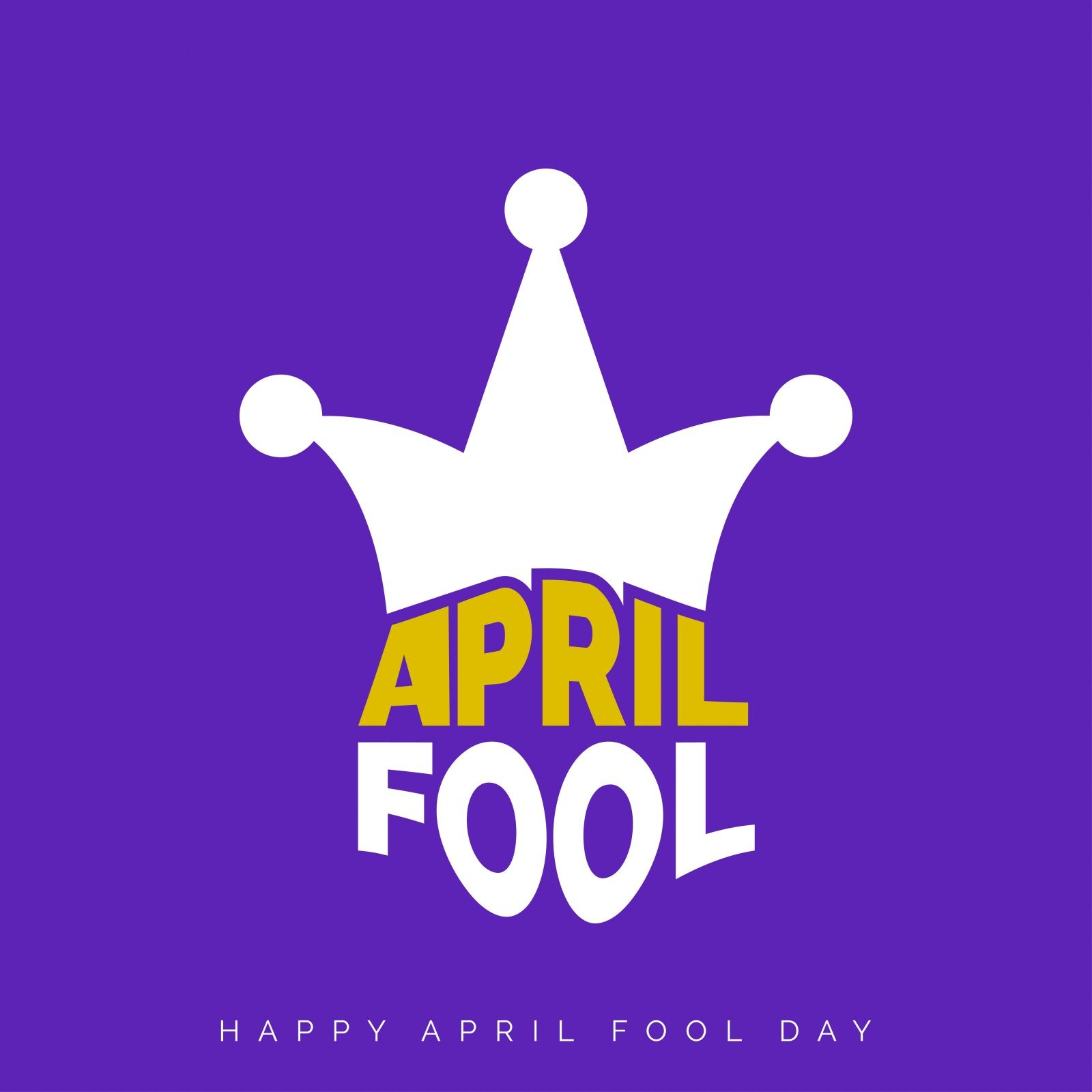 April Fool's Day 2019