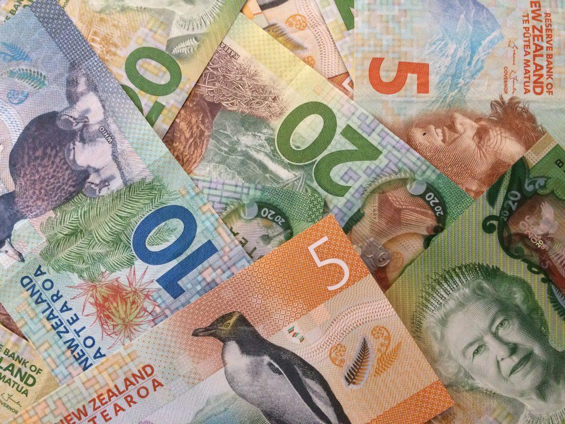 Billetes de dólares de Nueva Zelanda-theinfinitynz