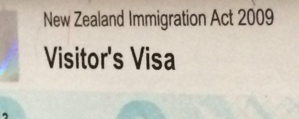 Visitor Visa NZ