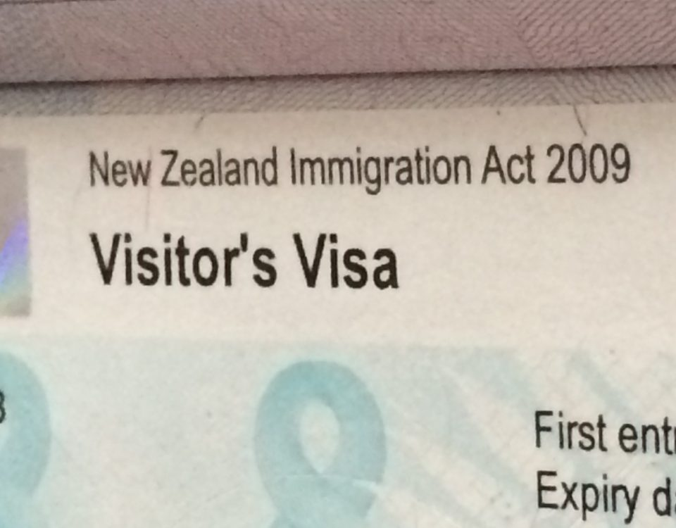 Visitor Visa NZ