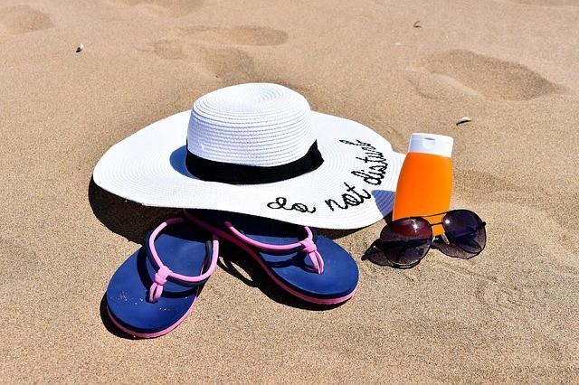 Gafas, gorra y protector solar, Nueva Zelanda