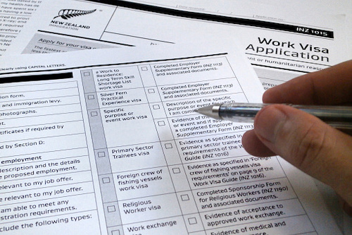 aplicación-visa-trabajo-NuevaZelanda-theinfinitynz