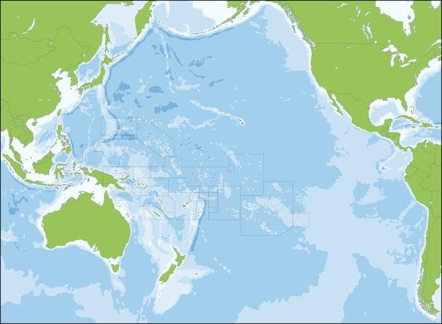 Flora y Fauna de Nueva Zelanda - Mapa de Oceanía Nueva Zelanda